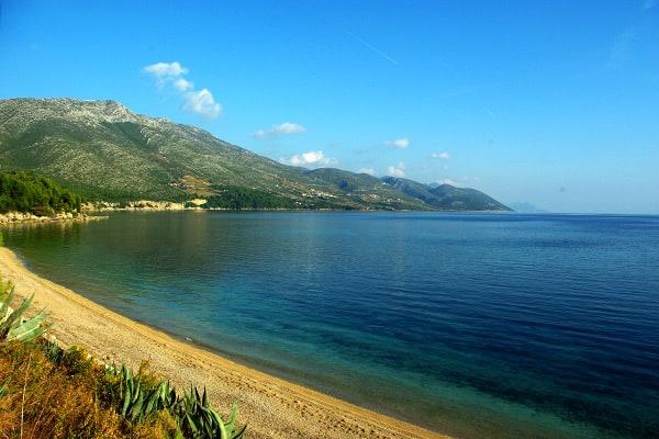 Dubrovnik region: Peljesac beach