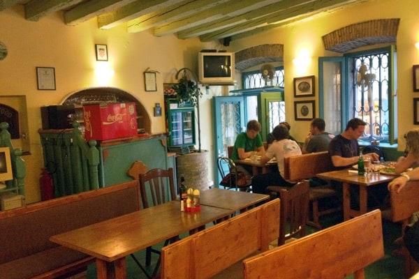 Restaurants in Rovinj: Pizzeria Da Serhio