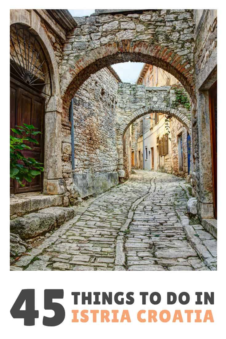 Things To Do In Istria Travel Guide | Pin Me For Later