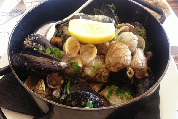 Restaurants in Rovinj: Seashells