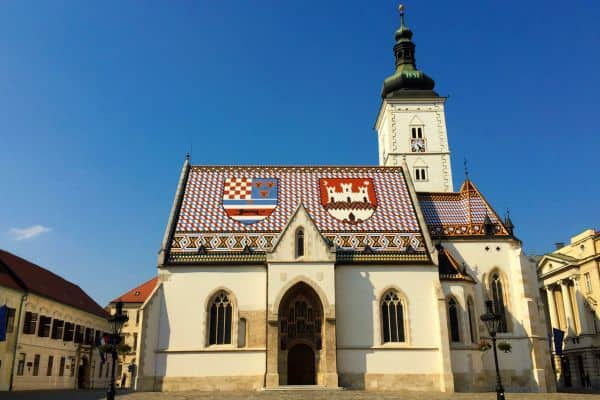 A Travel Guide To Zagreb Croatia | St. Marc Church