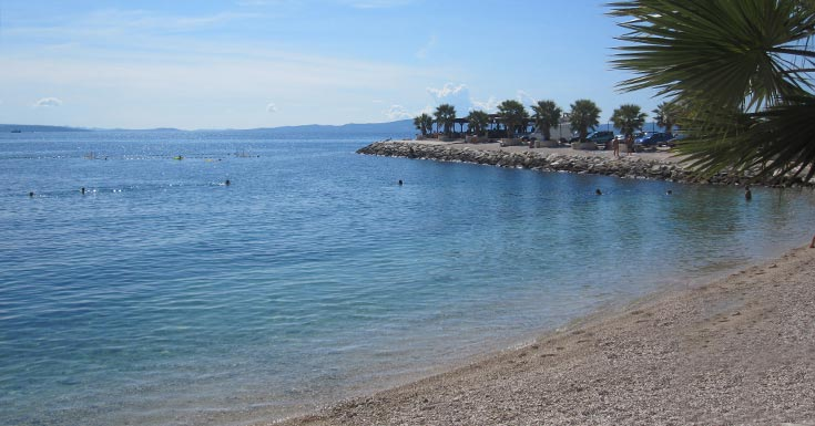 Split Beaches: Kastelet Beach | Split Travel Guide & Blog