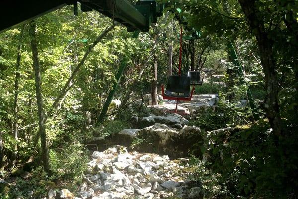 Dinosaur Park Funtana: Chair-lift