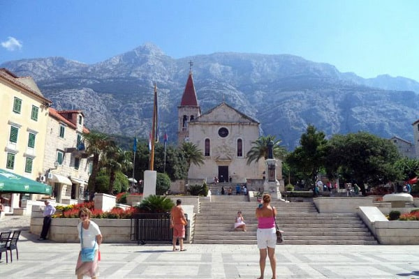 Makarska Croatia: The main square