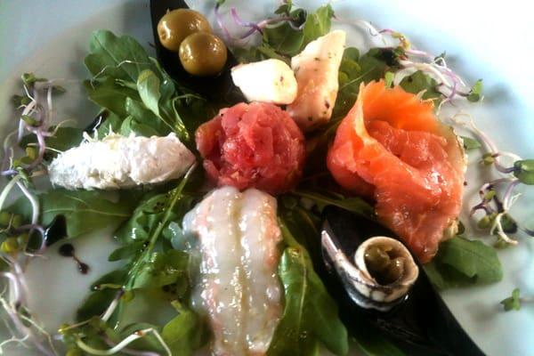 Restaurant Lanterna Rovinj: Cold appetizers