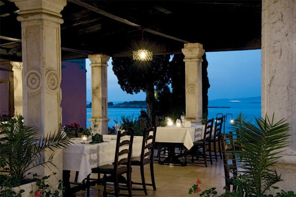 Restaurant Lanterna Rovinj: Terrace