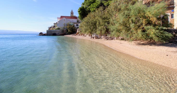 Split Beaches: Pisak beaches near Split | Split Travel Guide & Blog