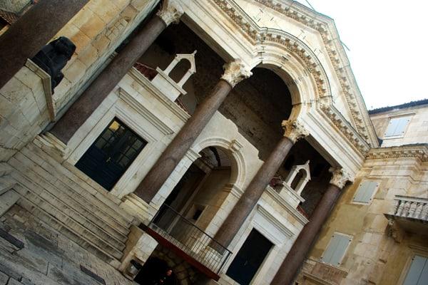 Split Croatia: Entrance of Diocletian's quarters
