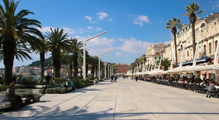 Things To Do In Split Croatia   Stroll along seafront promenade
