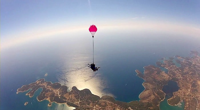 Things To Do In Split Croatia | Sky diving