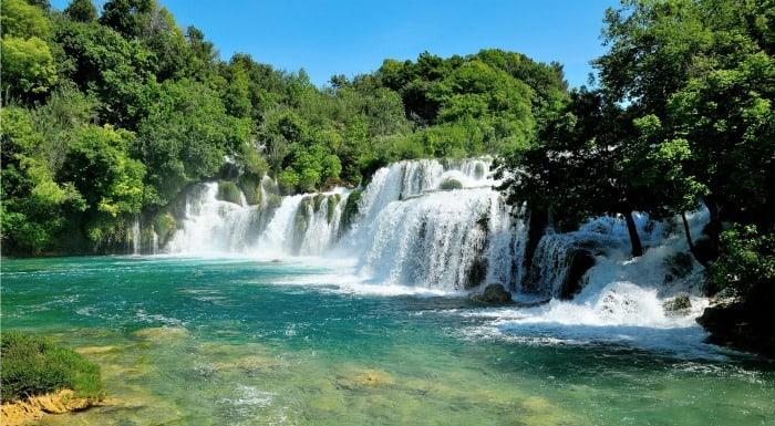 Things To Do In Split Croatia   Visit Krka Waterfalls