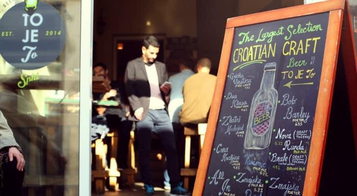 Things To Do In Split Croatia   Taste local craft beer