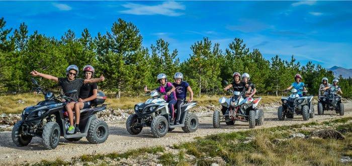 Things To Do In Split Croatia | Quad Ride