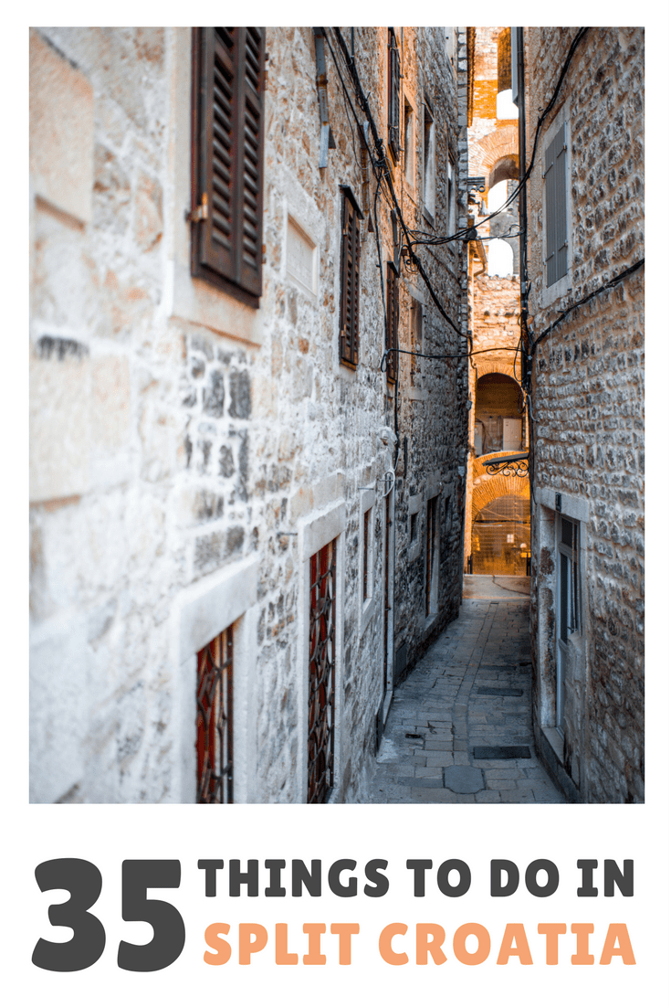 35 Things To Do In Split Croatia   Split Travel Blog