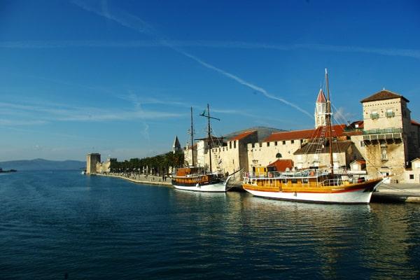 Trogir Croatia Seafront