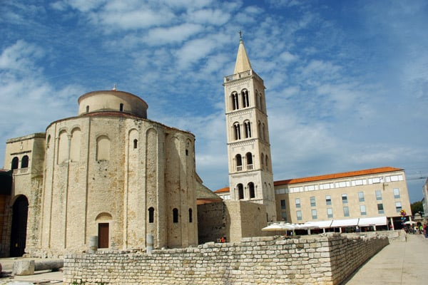 Zadar Croatia: St. Donat Church