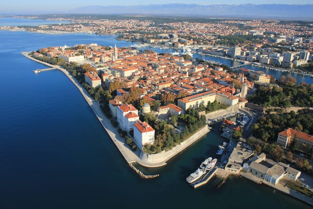 Zadar Croatia: Air View