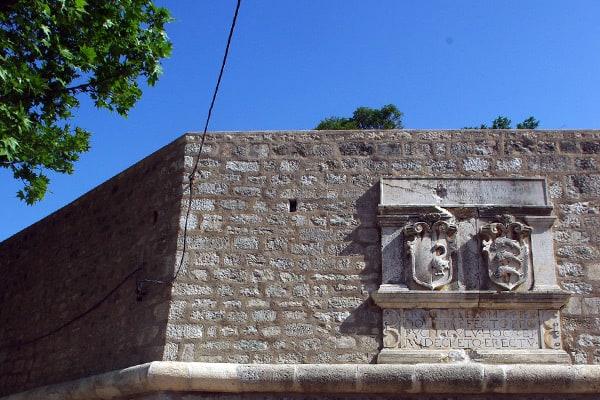 Zadar Croatia: Town Walls