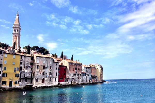 Rovinj Photos: seafront houses