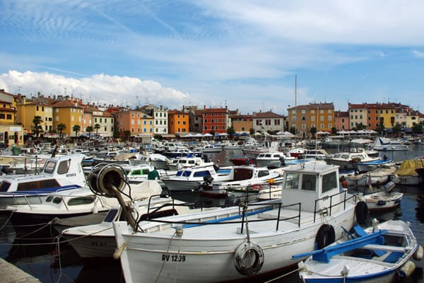 Rovinj Photos: Rovinj harbour