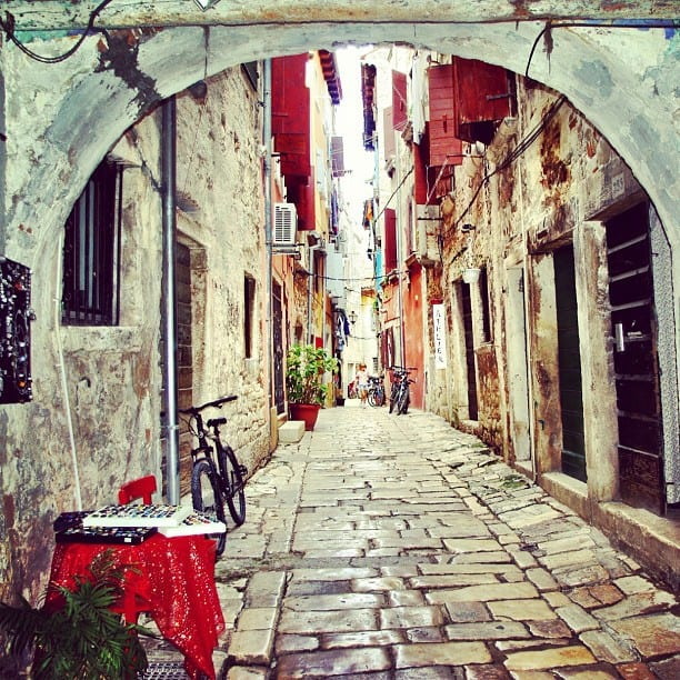 Rovinj Photos: Cobbled Streets