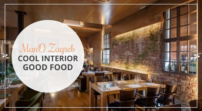 Restaurant mano Zagreb Croatia | Croatia Restaurant Guide