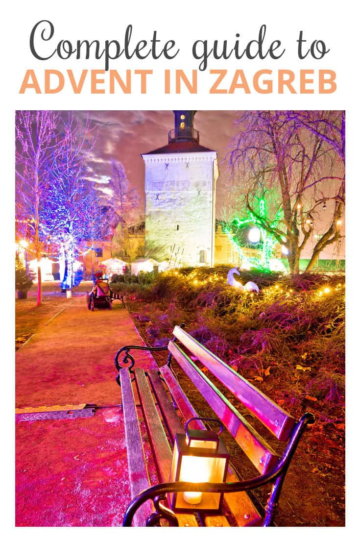 Christmas Zagreb, Illustration for Pinterest