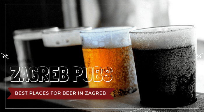 Best places for beer in Zagreb