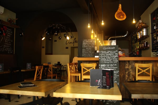 Zinfandel split food and wine bar explore croatia with for Food wine bar zinfandel