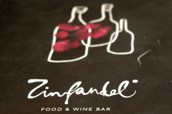 Food and Wine Bar Zinfandel Split