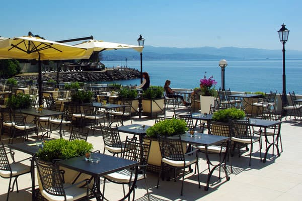 Visit Opatija: Beautiful cafes with outdoor terraces