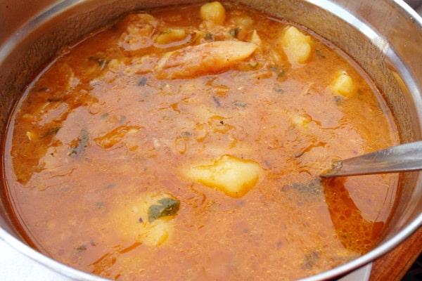 Tavern Fife Split: cod stew