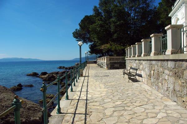 Visiti Opatija: Seafront promenade