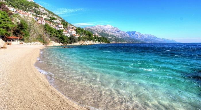 Croatia Beaches: Brsec