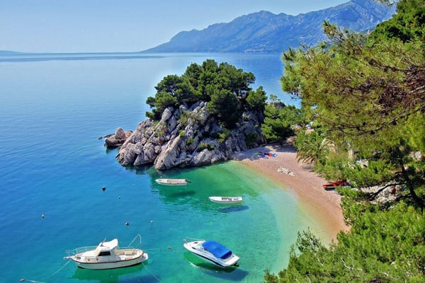 Croatia beaches: Brela