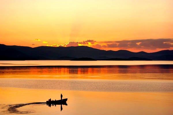 Croatia Sunset: Sunset in Komarna