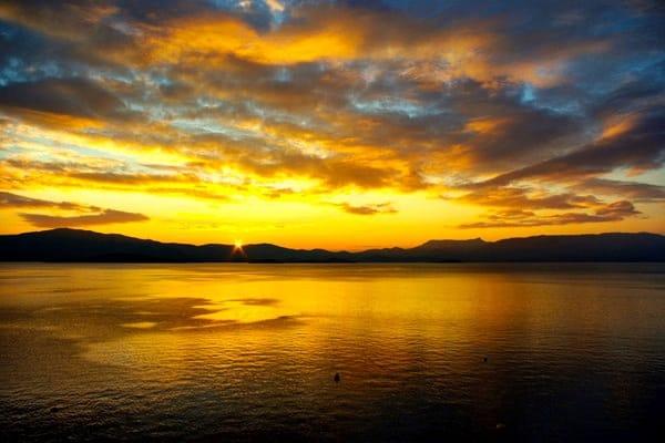 Croatia Sunset: Peljesac penisnula sunset