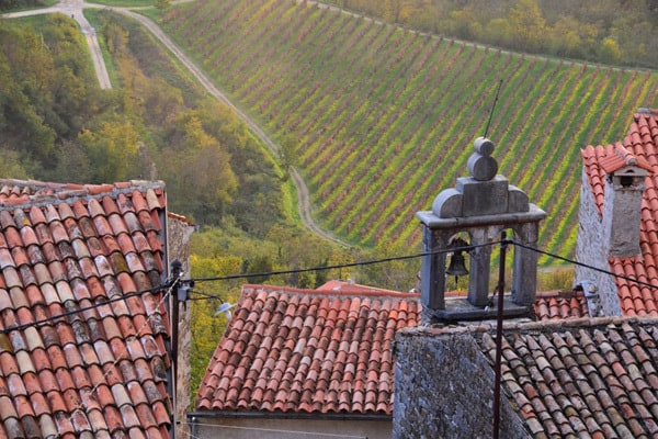 Istrian Hilltop Towns: Red Tiled Roofs