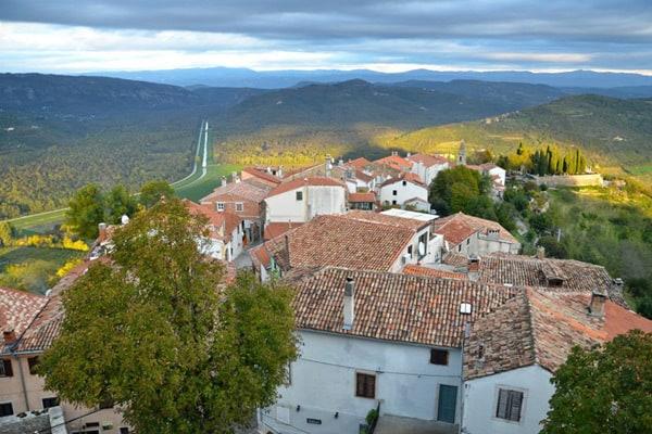 Istrian Hilltop Towns: Motovun