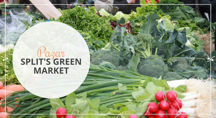 Pazar, Split's Green Market | Split Travel Blog