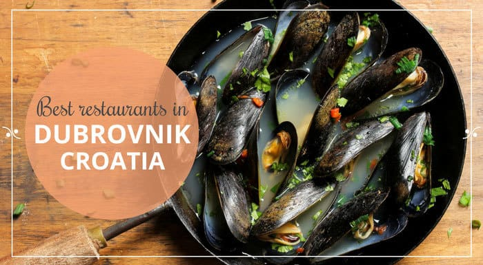 Best Restaurants In Dubrovnik Croatia Restaurant Guide