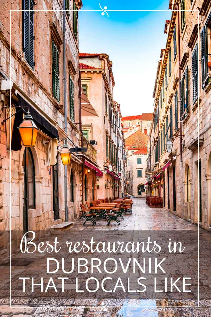 Where To Eat In Dubrovnik: Best Restaurants In Dubrovnik