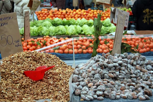 Travel Croatia Budget Tips: Buy groceries at the local market