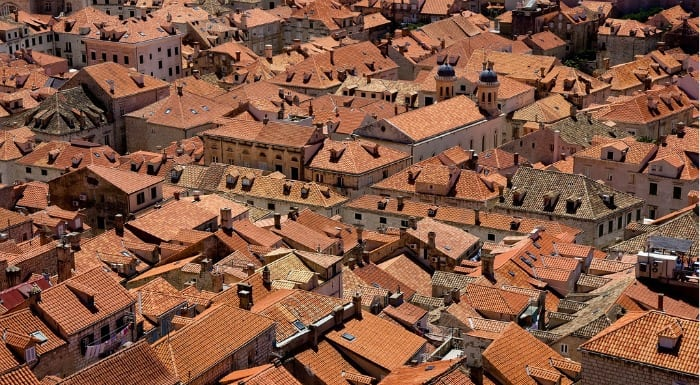 Endless Red Roofs in Dubrovnik