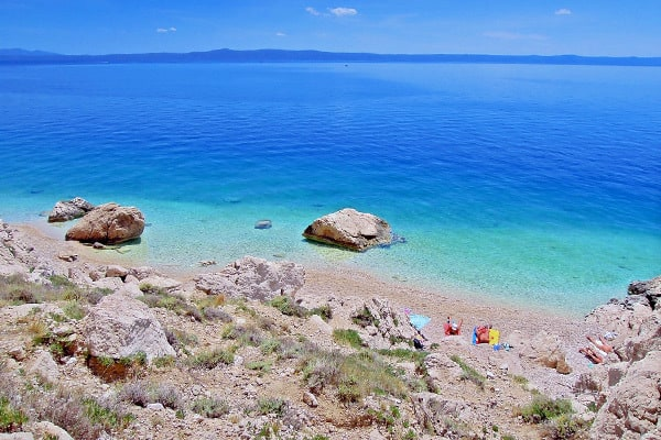 Makarska Beaches: Curilo