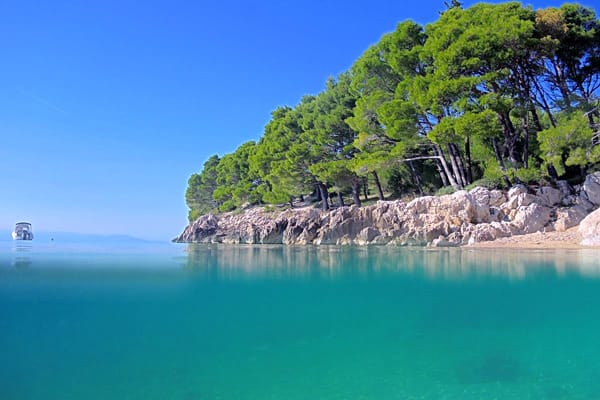 Makarska Beaches: King's Grove