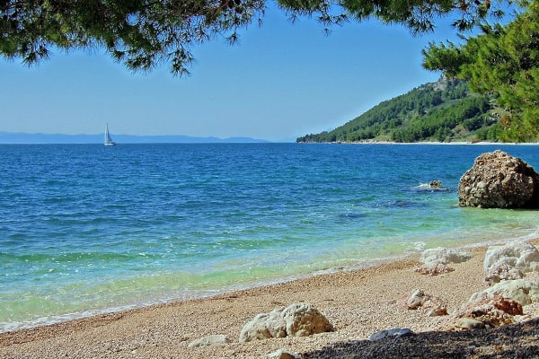 Makarska Beaches: Virgin Beach
