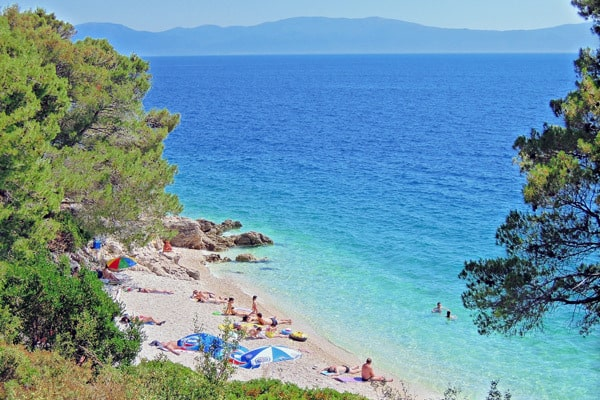 Makarska Beaches: Zaostrog