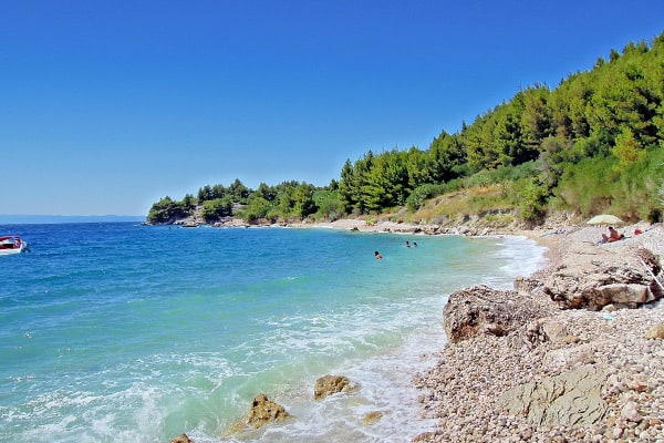 Makarska Riviera Beaches: Drasnice Beaches