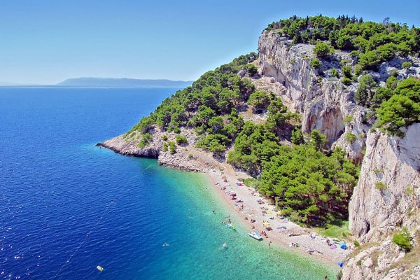 Makarska Riviera Beaches: Nugal Beach